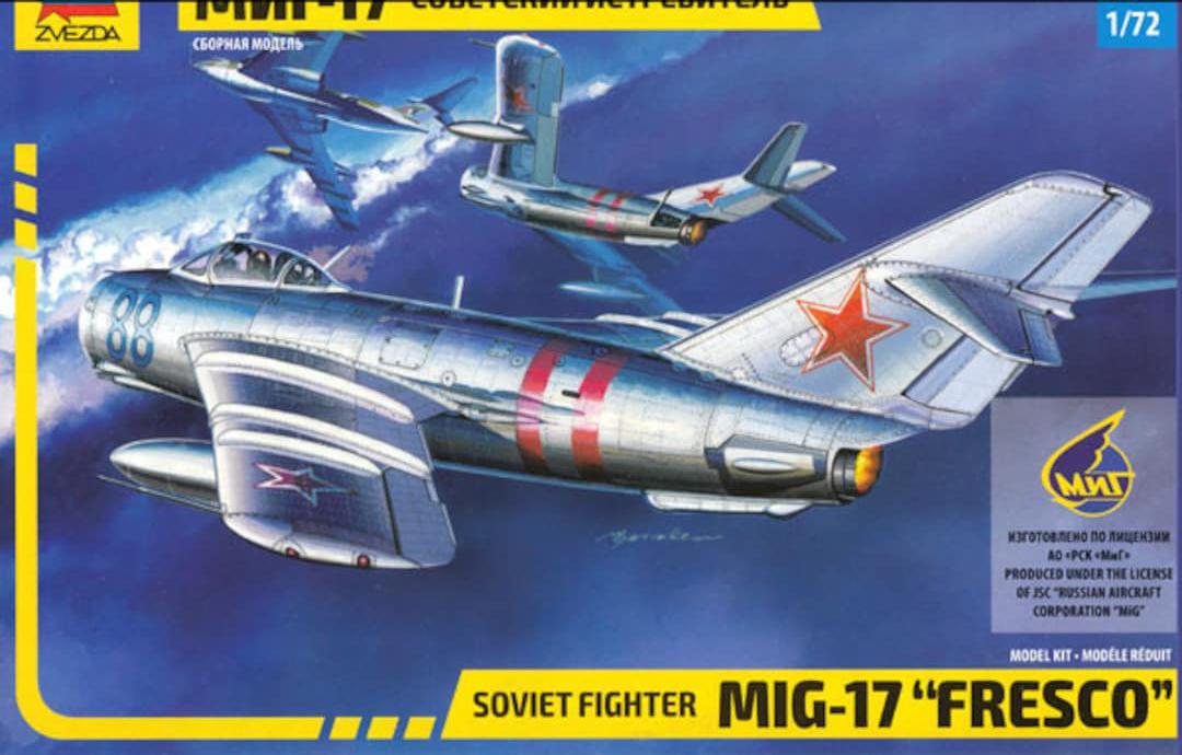 Jets-Zvezda-Soviet fighter Mig-17-7318-1