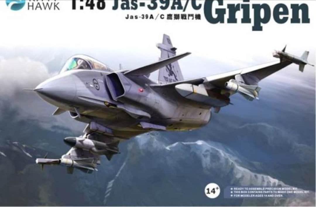 Jets-Kitty Hawk-Jas-39A/C Gripen-KH80117-1