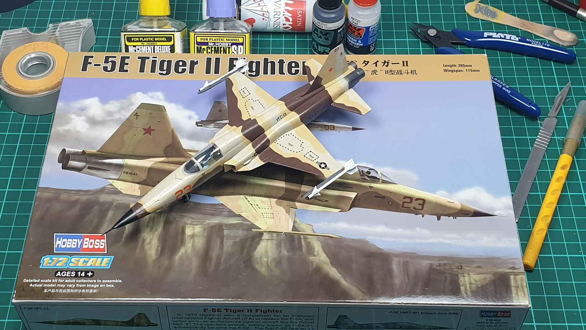 Jets-Hobby Boss-F-5E Tiger II-80207-1