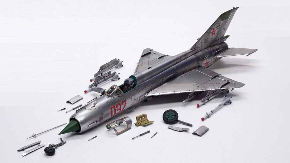 Jets-Eduard-MiG-21MF Interceptor-70141-1